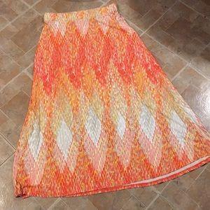 Lane Bryant maxi skirt size women's 14/16